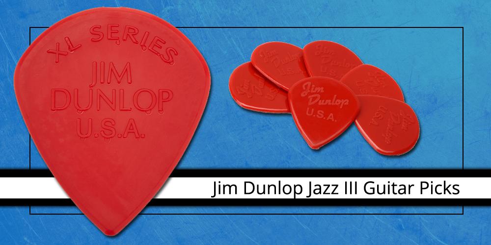 Jim Dunlop Jazz III Guitar Picks