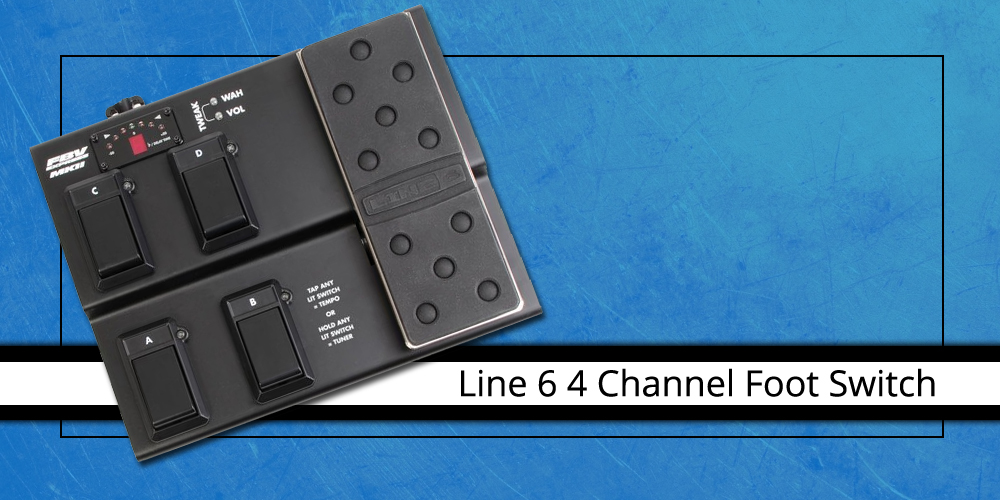 Line 6 4 Channel Foot Switch